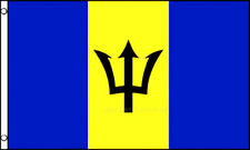 3'x5' Barbados Flag Outdoor Indoor Banner Lesser Antilles Island Caribbean 3x5