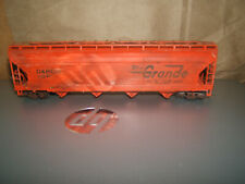 Custom weathered  Rio Grande  55 ft. Center Flow D & R G W #1906 1/87 HO Scale