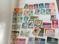 Luxembourg 2.5 pages of stamps on and off paper incl a few early nice sorter