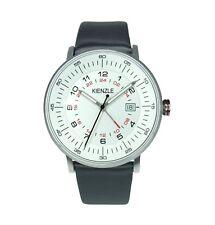 KIENZLE Herren Armbanduhr GMT, Datum, Lederband, Slim, Modell K15-00951 € 119,00