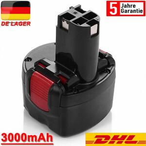 für Bosch Akku 9.6V 3.0Ah BAT048 BAT100 BAT119 PAG PSR 960 2607335461 2607335260