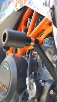 KTM 690 Smcr 2012-17 Gleitschutz Rahmen Schieberegler-Schutz Spulen Griff R8A3