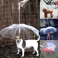impermeabile trasparente animale domestico Cane Ombrello Proteggere Da Rain
