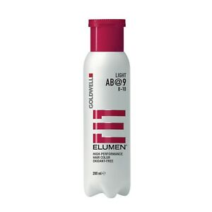 Goldwell Elumen AB@9 Ash Brown 6.7 oz / 200ml works with no peroxide or ammonia