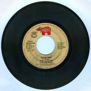 Philippines ERIC CLAPTON AND HIS BAND Tulsa Time 45 rpm Record