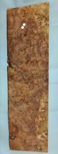 CONSECUTIVE SHEETS OF AMERICAN BURR WALNUT VENEER 62 X 42 cm AM#202 DASHBOARD,
