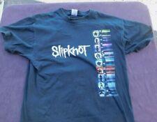 Vtg Slipknot Shirt Large Double Sided Rare Outside The Nine 2000s