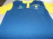 CRICKET AUSTRALIA OFFICIAL WORLD CUP 2007 POLO SHIRT -LARGE- SEE DESC FOR SIZING