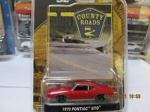 GREENLIGHT GREEN MACHINE. COUNTRY ROADS. SERIES 4. 1970 PONTIAC GTO. NUMBER 26