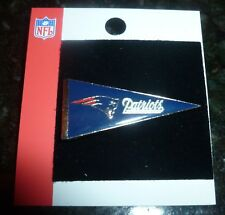 "NEW ~ NFL NEW ENGLAND PATRIOTS PENNANT LAPEL PIN 1 5/8"" long"