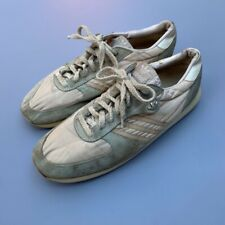 Vtg 80s Adidas Dance Womens Sneakers Heavy Wear Size 9 Running Shoes