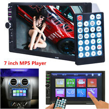 Bluetooth HD Touch Screen Car Stereo Radio 7'' 2Din MP5 Player FM/USB/AUX+Camera