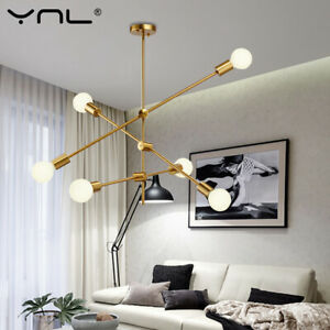 Hanging Lamp Chandelier Sputnik Fixture Pendant Light Nordic Ceiling Postmodern