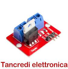Scheda 1 MOSFET IRF 520 5Vdc modulo arduino shield (Arduino-Compatibile)