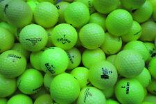 100 gelbe  Golfbälle  AAAA - AAA