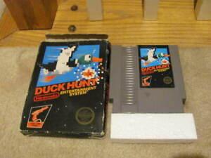 Duck Hunt NES In Box---BOX POOR CONDITION