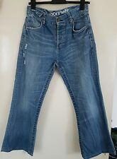 SONNETI Ladies Bootcut Denim Jeans Waist-32in/Leg Short