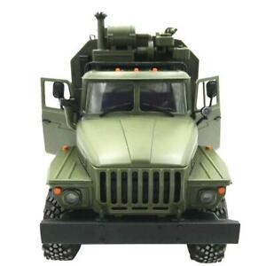 1:16 WPL RC CAR 6WD 2.4G Military Truck Command Remote Control Vehicle Climbing