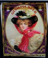 Vintage 1976 Olympia Brewing Co. Poster Beer Brewery Advertising