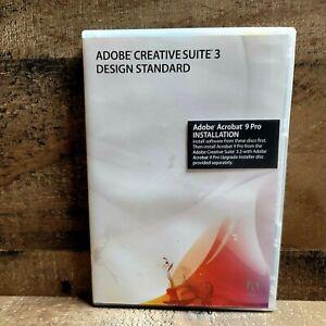 Adobe Creative Suite 3 Design Standard Acrobat 9 Pro Windows With Serial Numbers