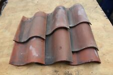 Reclaimed Spanish Roofing Tile True S 1/3 2/3 Full Clay Red