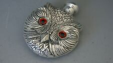 More details for continental 800  silver owl scent/perfume bottle
