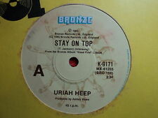 "Uriah Heep ""Stay On Top"" 80s Classic Rock  Oz 7"""