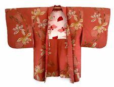 Japanese genuine Vintage Meisen Kimono Haori Jacket, Party Dress art deco rare