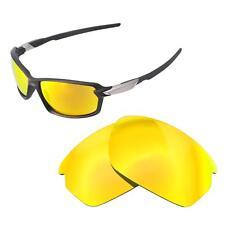 Walleva 24K Gold Polarized Replacement Lenses For Oakley Carbon Shift Sunglasses