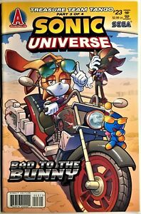 SONIC UNIVERSE Comic #23 February 2011 1st Edition TREASURE TEAM TANGO  3 of 4