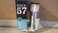 VINTAGE NOS BEEHIVE 57 WICK WITH CARRIER FLORA AMBASSADOR / EMPRESS MK2