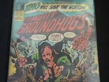 "Groundhogs ""Who Will Save The World?"" Original LP (UAS 5570) 1972. RARE !"