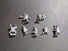 Warhammer 40k Chaos Daemons Plaguebearers of Nurgle x7 Nurglings Bits
