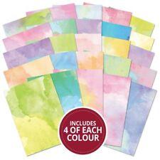 Hunkydory A4 Cardstock Adorable Scorable Pastel Watercolour | 100 Sheet