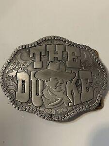 "John Wayne ""The Duke"" Solid Metal Belt Buckle"