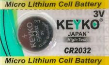 Battery for Toyota Remote Key Fob Battery CR2032 - 2-Pack - FOR REMOTE KEY