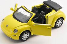 Blitz envío VW Nuevo Beetle amarillo/Yellow 1:34-39 Welly modelo auto nuevo con embalaje original