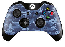 Xbox One Controller/Gamepad Skin / Cover / Case - Blue Digital Camouflage