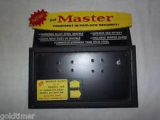 VINTAGE OLD LOCKS MASTER PADLOCK STORE COUNTER  & WALL DISPLAY