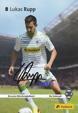 Lukas RUPP + Borussia Mönchengladbach + Saison 2013/2014 + Autogrammkarte
