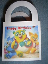 SPECIAL AGENT OSO Birthday Party 12 Favor Boxes / GOODY BAG Free Personalization