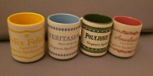 Official Harry Potter Hogwarts Potions Espresso Set 4 x Cups Mug