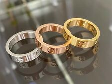Premium High Quality Stainless Steel Love Ring or Matching Bracelet