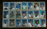 1990 MILWAUKEE BREWERS Bowman COMPLETE Baseball Team SET 21 Cards YOUNT MOLITOR