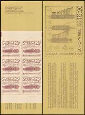 Sweden 1985 Europa/Music Year/Keyed-Fiddle/Musical Instruments 6v bklt (n45426)