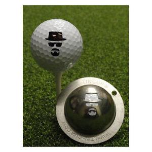 New Tin Cup Incognito Dude Golf Ball Design Marker Template Stencil