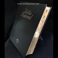 Biblia Pastoral RVR1960 Edicion de Púlpito con Indices  Letra Super Gigante