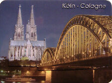 Köln Dom bei Nacht Kühlschrankmagnet 3D Fridge Refrigerator Magnet 6 x 8 cm