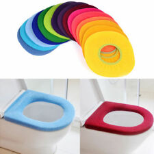 Bathroom Soft Washable Toilet Covers Seat Closestool Lid Rugs Warmer Cloth Mats