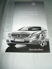 Mercedes CL Class Product Information brochure Jul 2010